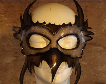 Owl Leather Mask