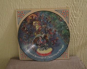 Disney vinyl - America on Parade - Original - Vintage lp in Near Mint Condition
