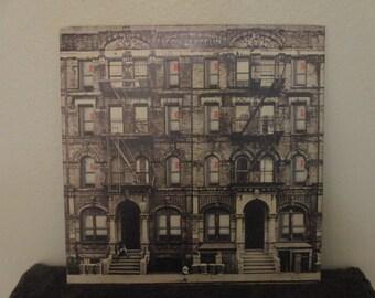Reduced Price - Led Zeppelin vinyl - Physical Grafitti - Super Rare Original -  Vintage album in EX+ Condition