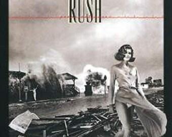 Rush vinyl record - Permanent Wave - Original Editiion - Record LP in Excellent Condition