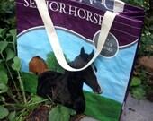 UNLINED Feed Sack Tote - Dumor Senior Horse