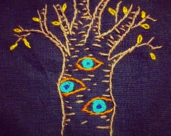 SALE - Eyes on You Embroidery