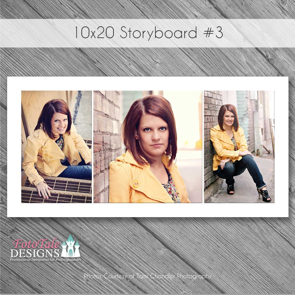 Instant Download 10x20 Storyboard Collage 3 Custom