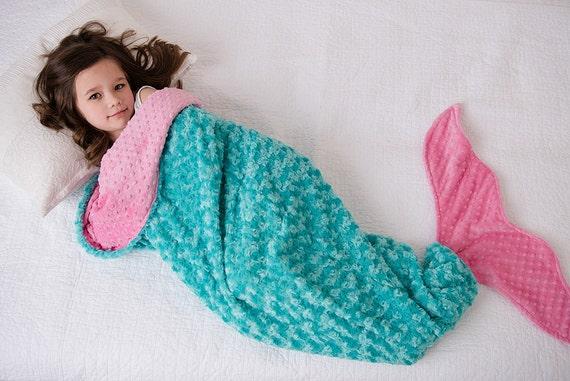 gift ideas for 5 year old girls mermaid blanket