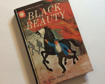 Vintage Book Black Beauty by Ann Sewell a Sunbeam Classics Book