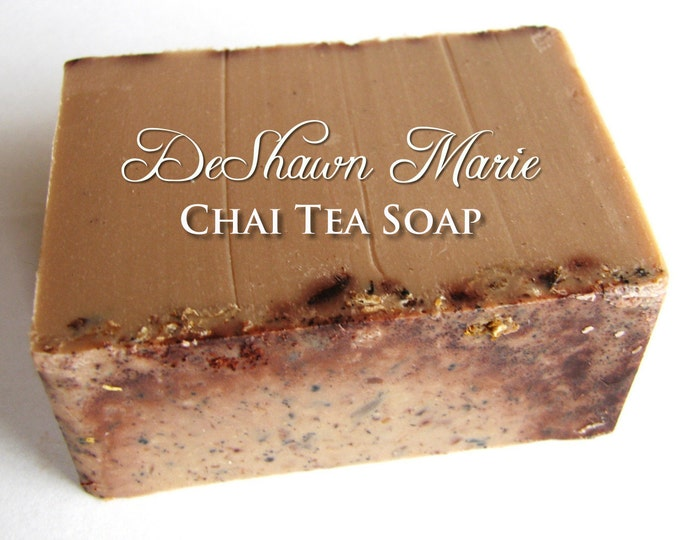 SOAP - 3LB Chai Tea Vegan Handmade Soap Loaf, Wholesale Soap Loaves