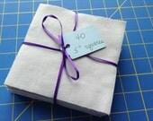 LAVENDER Flannel 40 Precut Fabric Squares - 5 inch rotary cut, Rag Quilt Squares, Sewing Squares, Craft Squares, Medium Lavender Color