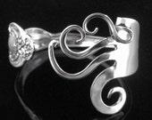 Spoon Bracelet, Fork Bracelet, Silverware Jewelry, Silverware Bracelet, Fork Jewelry in Fancy Design