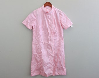 Vintage 60s Pink Pajama Nightgown by Cay Artley