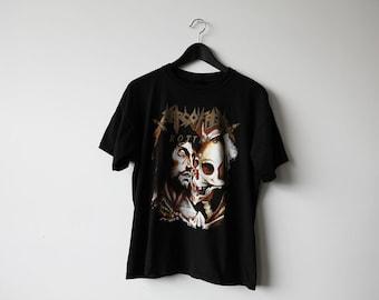 Vintage 90s Sarcófago T-Shirt Extreme Death Metal Rotting Sepultura