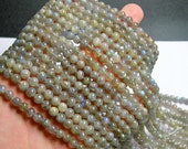 Labradorite - 6 mm beads -1 full strand - 65 beads - A quality - RFG141