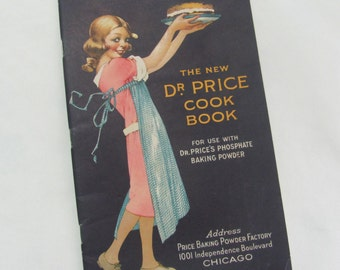 Vintage 1921 Royal Baking Powder Dr Price Cook Book Recipe Booklet Paperback