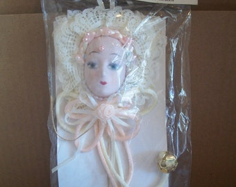 Packaged Porcelain Bisque Face