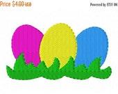SALE Easter Egg Hunt Machine Embroidery Design INSTANT DOWNLOAD