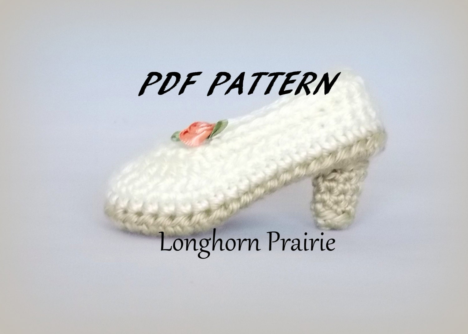Baby High Heels Shoes crochet PATTERN PDF (instant ...