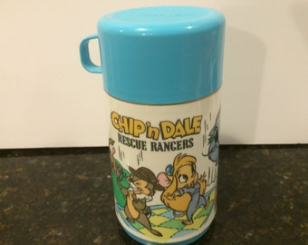 Vintage Chip N Dale Rescue Rangers Thermos