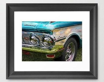 Fine Art Print Comet Classic Vintage Car