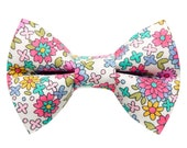 """Cat Bow Tie - """"The Kitty Soiree"""" -  Floral"""