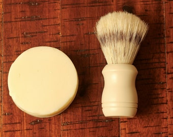 Vegan Shaving Soap - All Natural. Handcrafted. Unscented.
