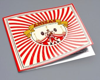 Vintage Circus Coloring Book Favors (Great Favors that won't end up in the trash)