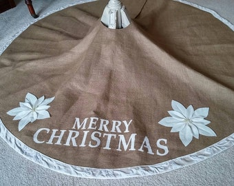 Extra Large Christmas tree skirt
