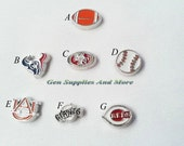 Sports Charm, Giants charm, football charm, baseball charm, Floating Charms For Floating Lockets, Personalized Floating Memory Locket