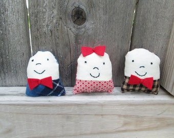 Smiley dolls -set one