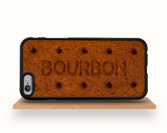 iPhone 7 Case, iPhone 7 Plus Case, iPhone 6/6S Case, iPhone 6/6S Plus Case, iPhone 5C Bumper, iPhone 5/5S Case - Bourbon Biscuit iPhone Case