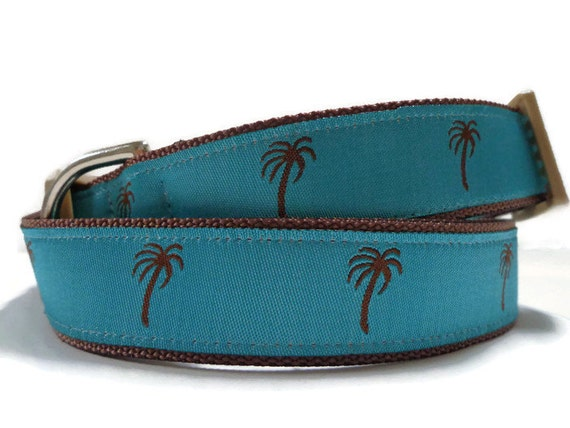 Palm Tree Dog Collar