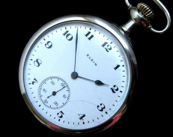 c.1919 Elgin Pocket Watch