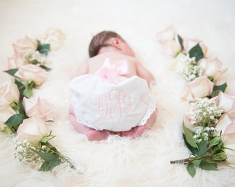 Monogrammed Diaper Covers