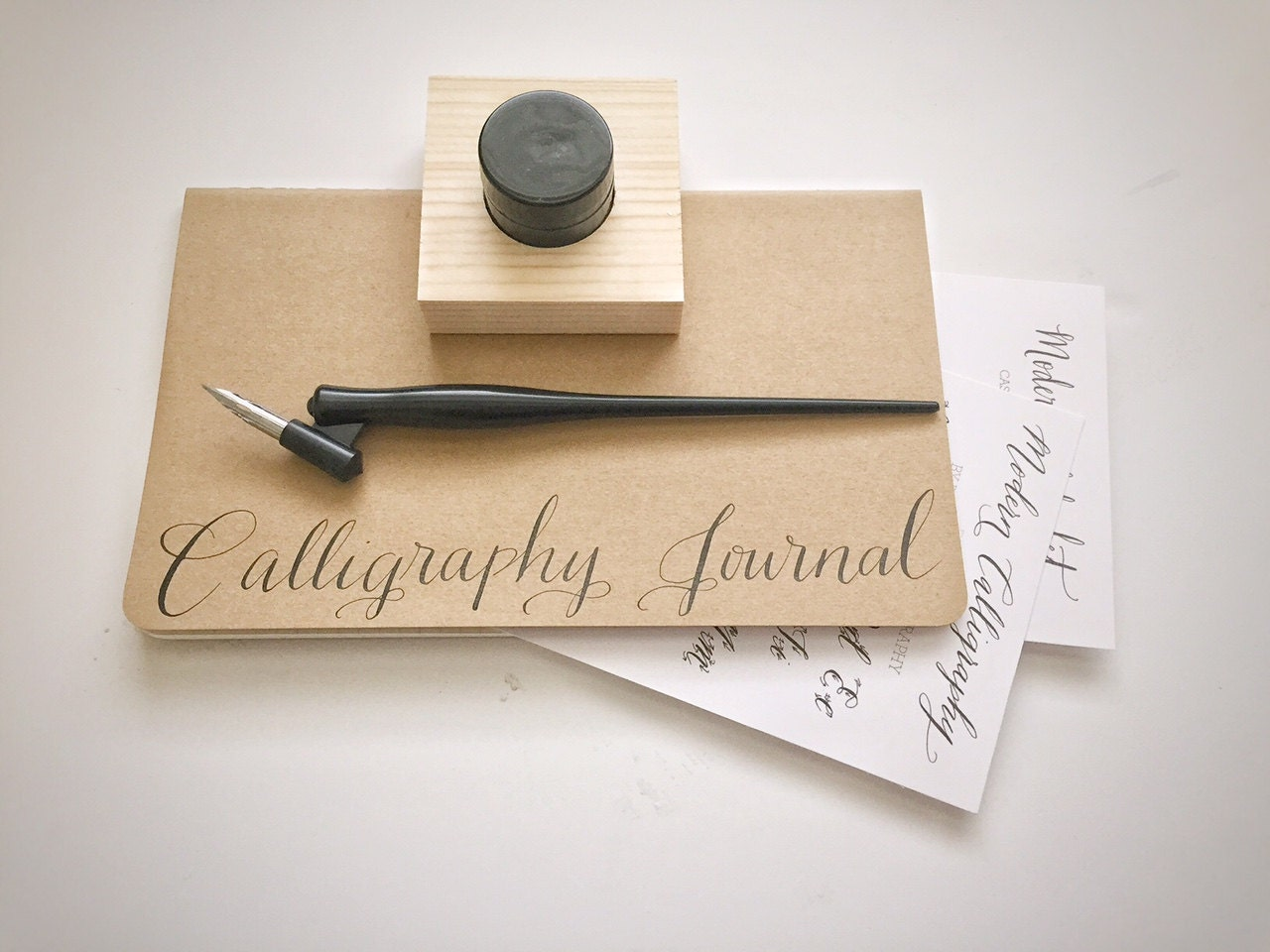 Mini Calligraphy Starter Kit Ships Quickly Free Name