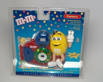 M and M 35mm Camera, New in Original Package, M and M advertising