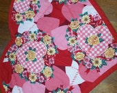 HEARTS Valentine's Day Placemats red