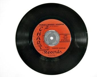 1967 Novelty 45 Record, Junior Samples