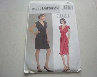 Pattern Women Dress 2 Styles Sizes 16 to 22 Butterick 5132