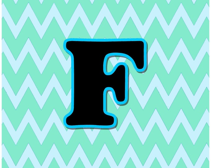 Letter F Digital Download