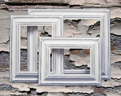 Picture Frame Picture Frame Set White Picture Frame Shabby Chic Picture Frames Rustic Picture Frames Your Custom Color Picture Frame