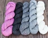 Dia Sock - Shawl kit - Colour Adventures (fibers: merino, nylon)