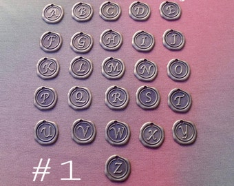 Add-On BRONZE INITIAL CHARMS