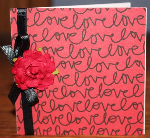 Mini Love Notecards, Hot Air Balloon Mini Notecard, Love Collection Mini Notecards, Heart Mini Notecards, Valentine Mini Notecards