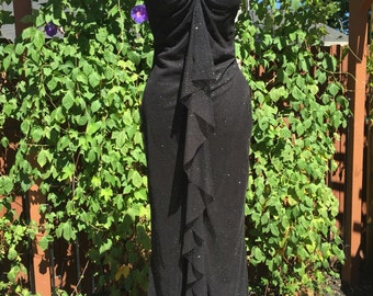 Long Black Gown, size 7
