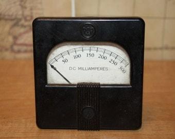 General Electric Milliammeter - item #1628