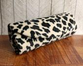 Cheetah clutch bag, Animal print clutch purse, cheetah print purse, Brown and tan purse