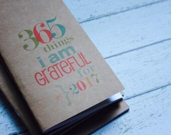 Gratitude Journal . Travelers Notebook Midori Insert Refill Jotter Fauxdori . Grateful Thankful Faith Blessed Thankfulness Prayers List