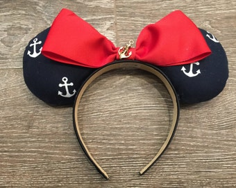 "Anchors Aweigh ""Charmed"" Minnie Ears!"