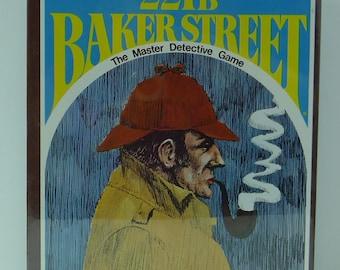 221B Baker Street Master Detective Game Sherlock Holmes Hanson Co. 1977 NEW