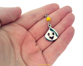 Sonic Cheese Necklace - Stainless Steel