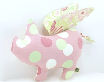 Extra Durable Dog Toy - When Pigs Fly 'DOUBLE FABRIC LAYER Construction'