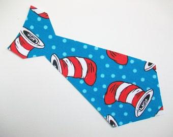 DIY No-Sew Dr Seuss Fabric Tie Applique - Iron On